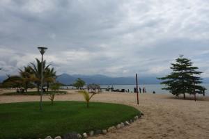 la plage sur le Lac