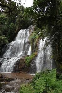 Les chutes de la Karera